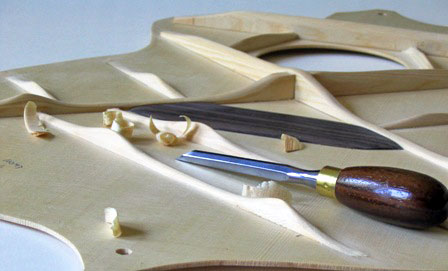 Image of Carved Soundboard Braces