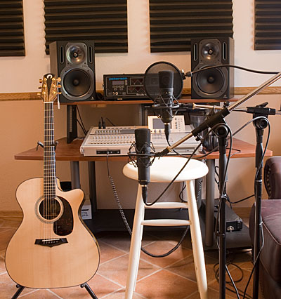Photo of Recording Room.