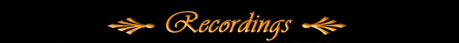 Recordings Page Title